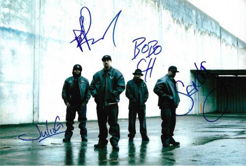 Cypress Hill Autogramme full signed 20x30 cm Bild
