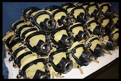 Scott Av-2000 Facepiece Kevlarheadnet Firefighter Scba Mask Size Large