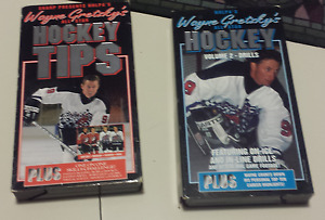 Wayne Gretzky Training Videos 2 VHS All Star Hockey Tips