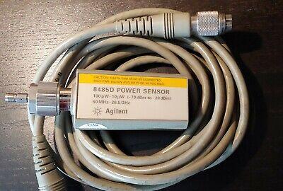 Hp Agilent 8485d 50mhz To 26.5ghz -70dbm To -20dbm Power Sensor