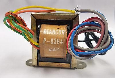 Transformer Power Pri 117vac Sec 12v 12v 12vct 0.5a Stancor P-8364 New