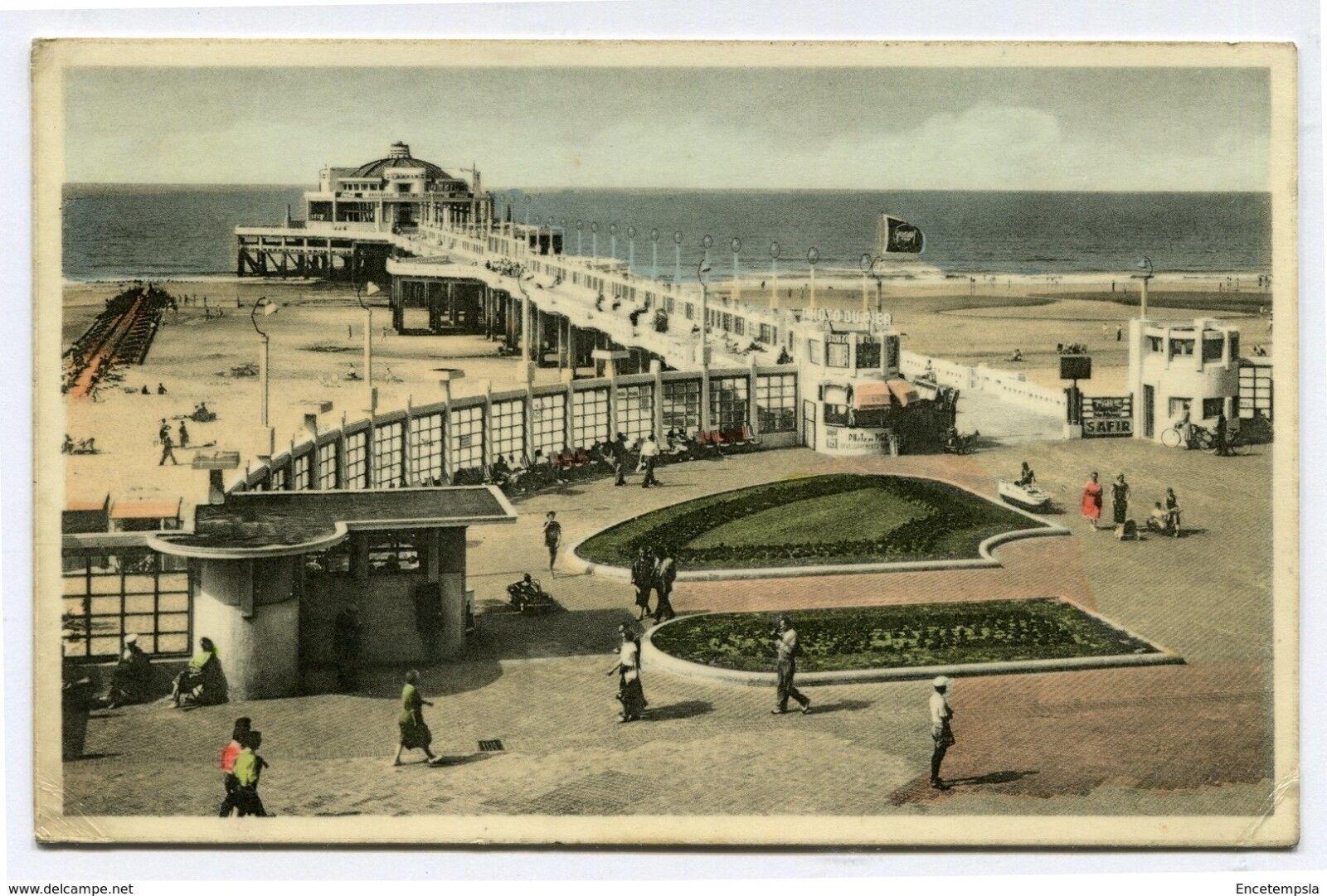 CPA-Carte postale- Belgique - Blankenberge - Le Pier -1956 (CP3508)