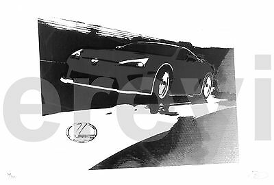 2016 LEXUS LC 500 CAR POSTER PRINT STYLE B 24x36 9MIL PAPER