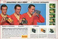 ▬►pubblicità Advertising Werbung 1966 Kodak Cineprese Instamatic - kodak - ebay.it