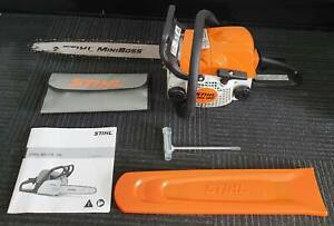 "STIHL MS180 Mini Boss Chainsaw 2 Stroke Petrol 31.8cc Engine 16"" Bar Toukley Wyong Area Preview"