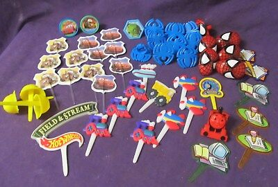 Spiderman Construction Disney Cars and more Boy cake decorating - Spiderman Cake Toppers
