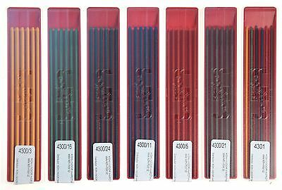 - TECHNICAL COLOURED DRAWING LEAD REFILL 4300 2MM KOH-I-NOOR MECHANICAL PENCIL