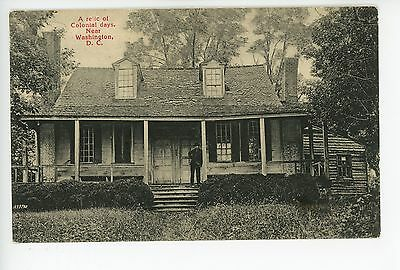 """""""Colonial Cabin"""" Minnie Brooke—Washington DC Rare Antique Chevy Chase 1907"""