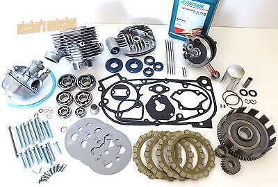 SIMSON Schwalbe KR51/1 Set Motorregeneration Reparaturkit Motor 50ccm