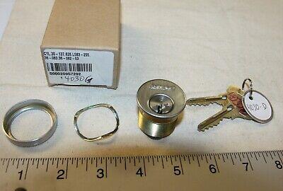 Schlage 1-18 Mortise Lock Cylinder W 2 Everest S123 Keys