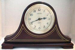 Linden Mantel Clock - Quartz Movement, used, 1 owner, excellent condition