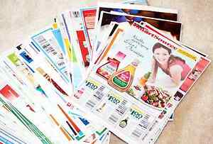 LOT OF 100 MIX GROCERY COUPONS ALL FOOD (2 of Each)