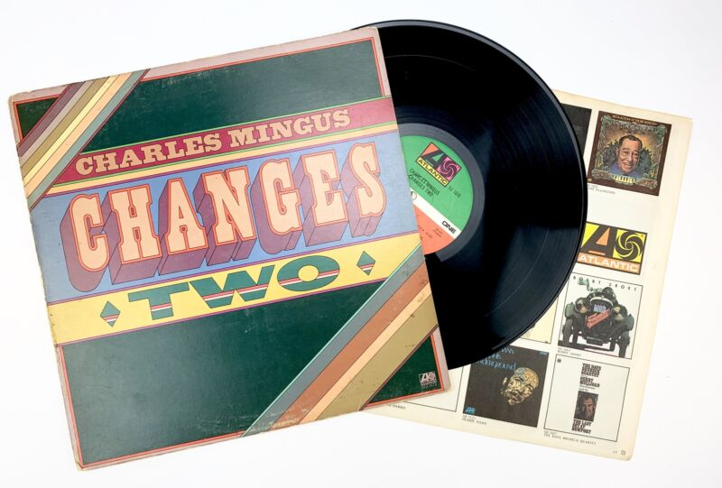 """Charles MINGUS (1922–1979): """"Changes Two"""" - Signed LP"""