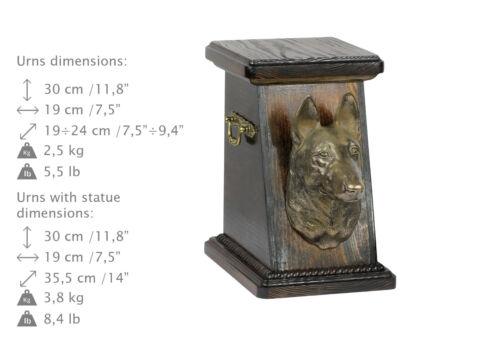 Malinois, dog urn made of cold cast bronze, ArtDog, CA - kind3