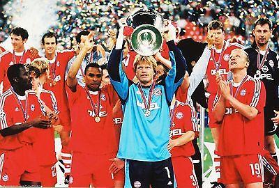 Oliver Kahn Bayern München Champions Leaque 2001+1