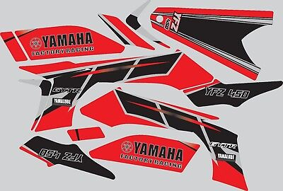 Graphics for 2003-2008 Yamaha YFZ450 YFZ 450 Red ATV decals stickers  for sale  Shipping to South Africa