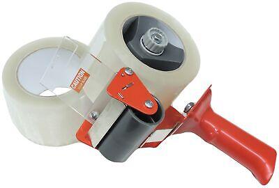 """3"""" Heavy Tape Gun Dispenser Shipping Packaging Packing Carton Sealing Kit 2 Roll"""