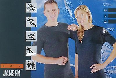 Jan Jansen Thermo Baselayer Funktionsunterwäsche T-Shirt UNISEX Blue AktivLINE Layer Thermo
