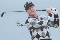 Tom Watson Firmado 12x8 Foto Masters, Abierta, Pga Champion Coa - champion - ebay.es