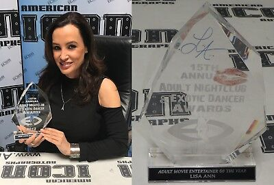 onally Owned 12 Adult Movie Entertainer Award Trophy BAS COA (Adult Movie Awards)