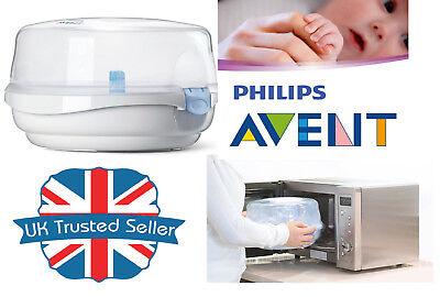 Philips Avent Bebé Biberones Microondas Esterilizador de vapor agua fría