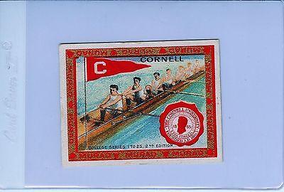 1909-10 T51 Cornell Big Red Rowing Crew Team MURAD Tobacco College Series Card