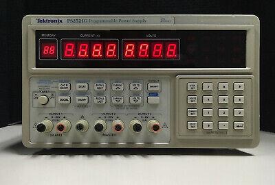 Tektronix Ps2521g Programmable Power Supply