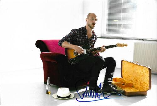 "Sivert Hoyem ""Madrugada"" Autogramm signed 20x30 cm Bild"