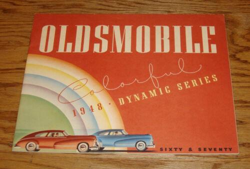 Original 1948 Oldsmobile Series 60 & 70 Deluxe Sales Brochure 48 Coupe Sedan