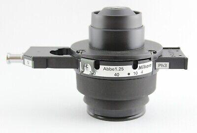 Nikon Microscope 1.25 Phase Contrast Eclipse Condenser Ph3 Bf E2-s