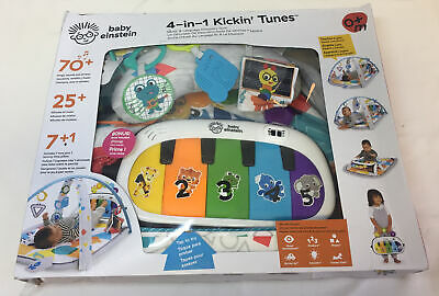 Baby Einstein 4-IN-1 KICKIN' TUNES Music & Language Discovery Gym for sale  Shipping to Nigeria