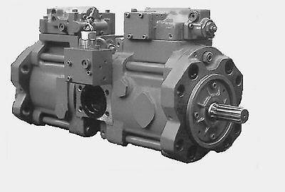 Daewoo Excavator Dh130w Main Pump