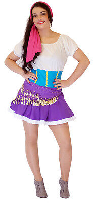 Princess Jasmin/Gypsy Jezabel/Esmeralda  FANCY DRESS COSTUME all sizes