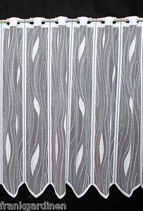 scheibengardinen 50 cm breit ebay. Black Bedroom Furniture Sets. Home Design Ideas