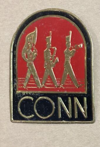 C.G. Conn Instrument Case Badge Elkhart Indiana Clarinet Saxophone