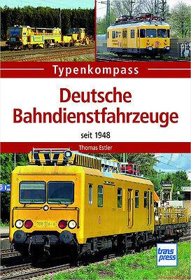 Fachbuch Deutsche Bahndienstfahrzeuge, Typenkompass mit vielen Informationen NEU