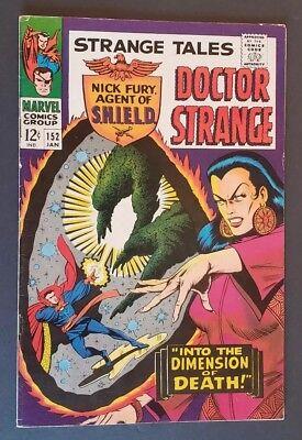 STRANGE TALES 152 DOCTOR STRANGE NICK FURY SHIELD