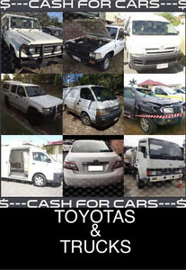 CASH 4 CARS ANY CYCLONE DEBBIE TOYOTA & TRUCK FLOOD STORM VEHICLE Proserpine Whitsundays Area Preview