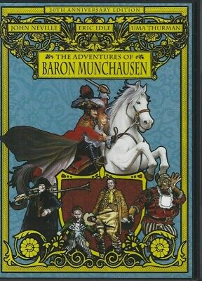 DVD The Adventures of Baron Munchausen 20th Anniversary Edition