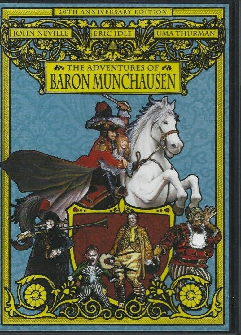 DVD The Adventures Of Baron Munchausen 20th Anniversary Edition PG - $11.99