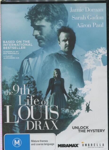 THE 9TH LIFE OF LOUIS DRAX -  Jamie Dornan, Aiden Longworth, Sarah Gadon - DVD