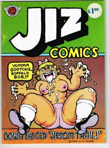 Jiz Comics #1 (1969) - 6.0 FN *4th Print - R. Crumb*