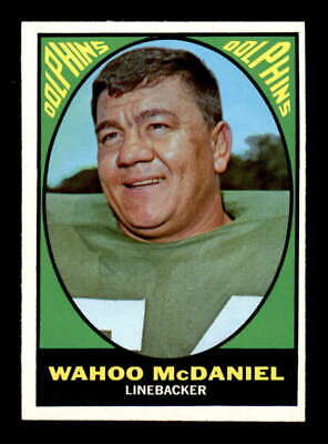 1967 Topps #82 Wahoo McDaniel RC EXMT+ X1624073 for sale  Tomball