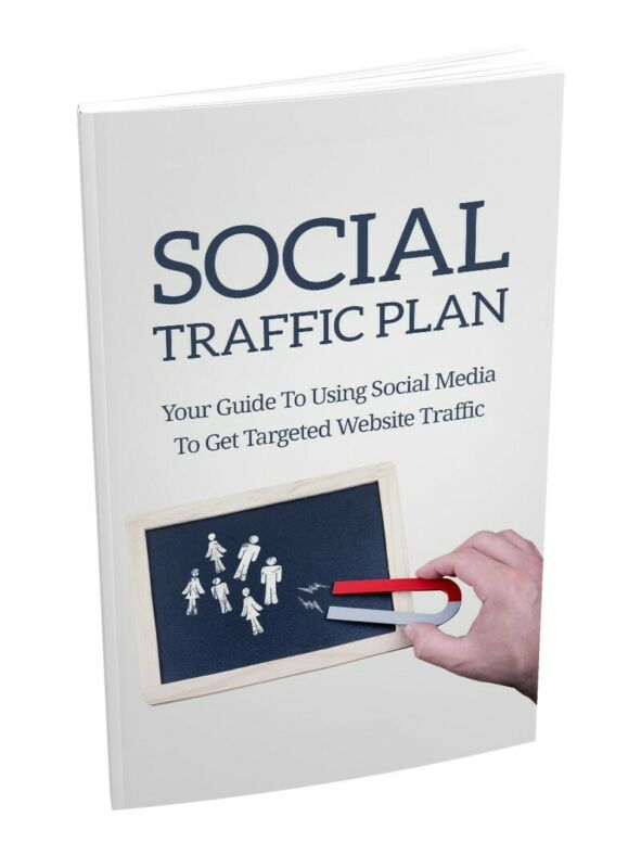 Social Media Traffic PlanE Book PDF with Master Resell Rights + 3 Bonus Ebooks