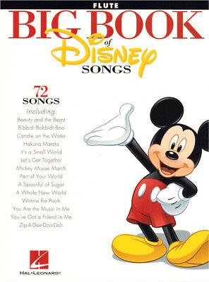 Big Book of Disney Songs 72 Titel Noten für Querflöte Flute