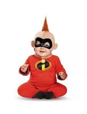 The Incredibles Baby Jack (The Incredibles 2 Baby Jack Costume Disney Pixar Deluxe size)