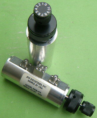 1pc JFW 50DR-079 0-30dB/2.0GHz SMA Handle attenuator