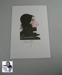 # Michael Mathias Prechtl orig. Farblithographie signed