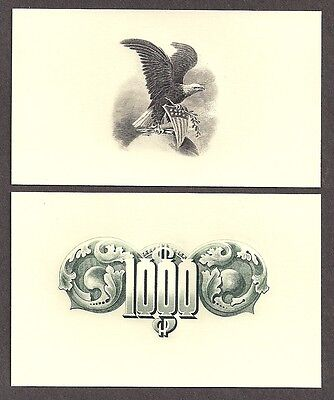 Engravings - Two Intalgio/Engraved Prints - CU - Flawless Condition