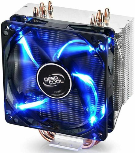Deepcool Gamaxx 400 Blue LED CPU Cooler 120mm PWM Fan Hydro